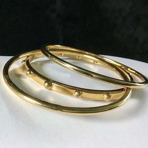 🎁3 Vintage Gold Monet Bracelets